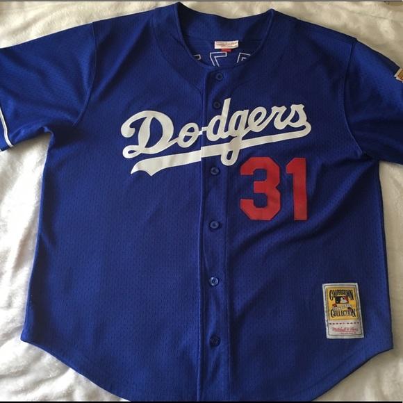 hot sale online b205c 1d115 Mike Piazza Authentic Jersey Los Angeles Dodgers